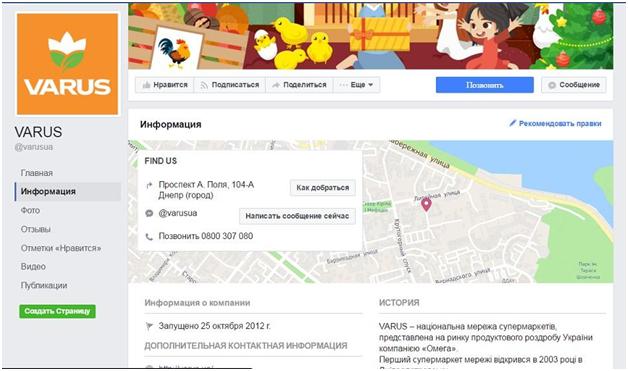 Как оценить влияние интернет-рекламы на количество посетителей офлайн-заведения примеры бизнес-страницы супермаркетов